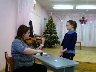 Мастер-классы в рамках культурно-образовательного проекта поддержки юных музыкантов Кировской области «Симфония на колесах»