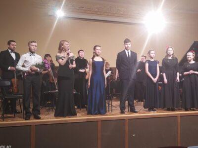 Юные музыканты выступили с оркестром