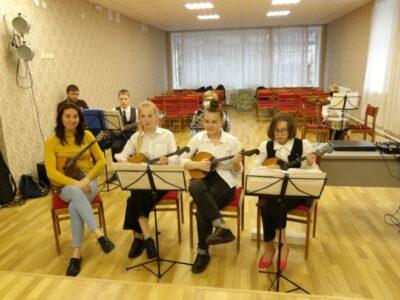 Отчетный концерт народного отделения